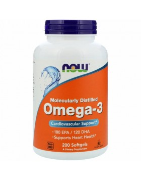 Now Foods, Omega-3 200caps