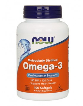 Now Foods, Omega-3 100caps
