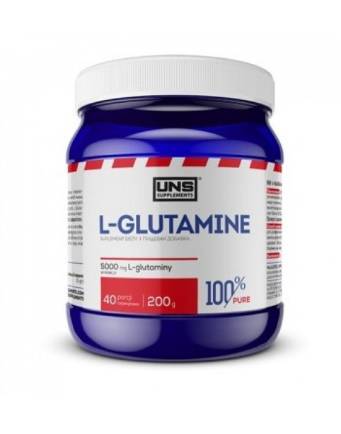 UNS  L-glutamin 200gr.