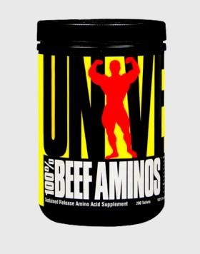 100% BEEF AMINOS 400tab.