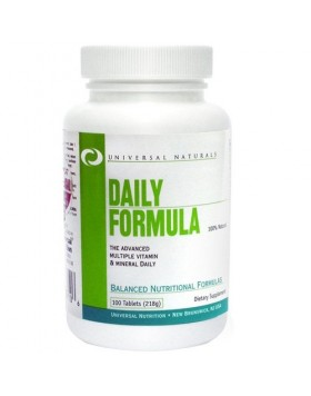 Universal Daily Formula 100tablets